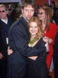 Comedian Tom Green and Actress Drew Barrymore at Academy Awards