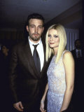 "Actors Ben Affleck and Gwyneth Paltrow at Film Premiere of their ""Shakespeare in Love"""