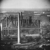 Steel Plant During Strike