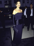 "Actress Catherine Zeta-Jones at the Premiere of the Film ""Mask of Zorro"""
