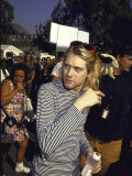 Front Man of Rock Group Nirvana Kurt Cobain
