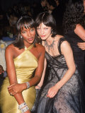 Model Naomi Campbell and Actress Milla Jovovich at Cfda Awards