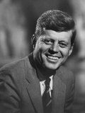 Senator John F Kennedy Close-Up During Campaign