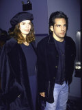Actress Jeanne Tripplehorn and Boyfriend  Actor Ben Stiller