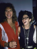 Singers David Lee Roth and Madonna