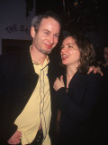 Tennis Player John Mcenroe with Wife Patty Smyth