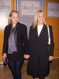 Fashion Designer Alexandra Von Furstenberg and Mother Pia Getty