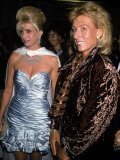 Socialite Ivana Trump and Tennis Player Martina Navratilova