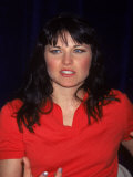 Actress Lucy Lawless at Kids' Day at Fao Schwartz  a Fundraiser for Beth Israel