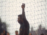 Soccer Star Pele in Action During a Practice for the World Cup Competition