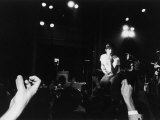 Musician Iggy Pop in Concert