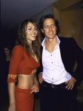 Actors Elizabeth Hurley and Hugh Grant at Party at Mondrian Preceding Golden Globe Awards