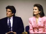 John F Kennedy Jr and Mother  Former First Lady Jackie Kennedy Onassis