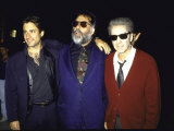 "Actor Andy Garcia  Director Francis Ford Coppola and Actor Al Pacino at Premiere of ""Godfather 3"""