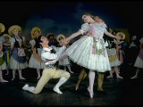 """La Fille Mal Gardee"" Danced by Alexander Grant  David Blair and Nadia Nerina of the Royal Ballet"