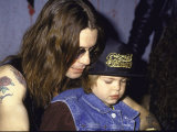 Rock Musician Ozzy Osbourne and Son  Jack