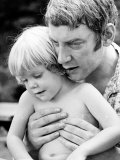 Actor Donald Sutherland W Son  Future Actor Keifer Sutherland