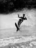 Apollo 8 Astronaut William Anders Water Skiing