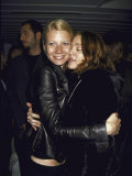 Actress Gwyneth Paltrow and Singer Madonna Embracing