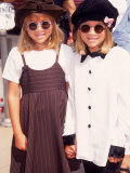 "Twin Actresses Mary Kate and Ashley Olsen at the Film Premiere of ""Alaska"""