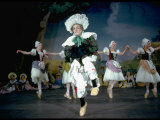 "Royal Ballet Dancer Stanley Holden in ""La Fille Mal Gardee"
