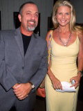 Singer Songwriter Billy Joel and Ex-Wife  Model Christie Brinkley  at Star Benefit
