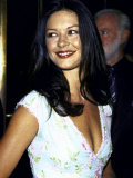 "Actress Catherine Zeta- Jones at Film Premiere of ""Double Jeopardy"""