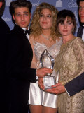 Actors Jason Priestley  Tori Spelling and Shannen Doherty at the People&#39;s Choice Awards