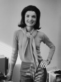 Portrait of Jacqueline Bouvier Kennedy Onassis