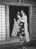 "Japanese Singer Sunhara Playing Leading Lady in ""Madame Butterfly"" Performed by Japanese Co"