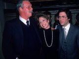 Actress Mary Tyler Moore with Brother John and Husband Dr Robert Levine