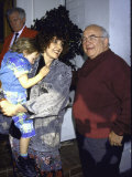 Actor Edward Asner and Girlfriend Carol Jean Vogelman