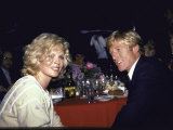 Actors Kim Basinger and Robert Redford