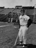 Baseball Star  Willie Mays on the Field