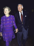 Television News Broadcaster Walter Cronkite and Wife Betsy
