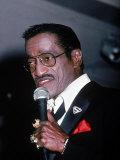 Singer Sammy Davis Jr