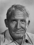 Actor Spencer Tracy During Time of Filming &quot;Bad Day at Black Rock&quot;
