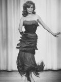 Actress-Dancer Abbe Lane Dancing an Authentic Cha-Cha