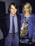 Married Actors Michael J Fox and Tracy Pollan