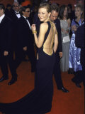 Actress Cate Blanchett  Displaying Back-Less Gown  at Academy Awards