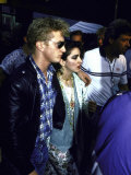Actor Sean Penn and Singer Madonna
