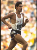 US Track Athlete Jim Ryun in Action at the Summer Olympics