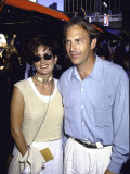 Actor Kevin Costner and Wife Cindy  Wearing Sunglasses