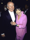 Playwright Terrence Mcnally and Actress Singer Liza Minnelli