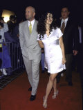 Married Actors Bruce Willis and Demi Moore