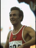 Soviet Track Athlete Valeri Borzov at the Summer Olympics