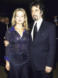 Actors Beverly D'Angelo and Al Pacino at Film Society Tribute to Him