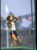 US Pole Vaulter Bob Seagren after an Unsuccessful Vault at the Summer Olympics