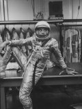 Astronaut Alan B Shepard in Space Clothing