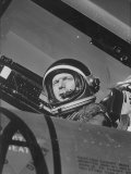 Astronaut Malcom S Carpenter in Weightless Flight Training